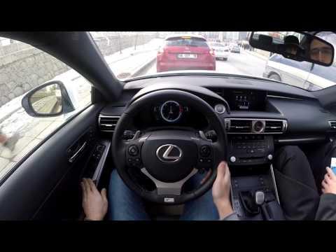 2016 Lexus IS 200t F-Sport İnceleme-Pov