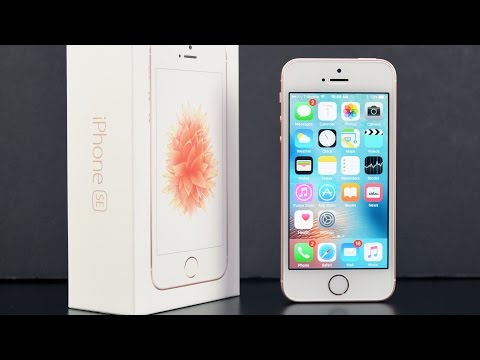 Apple iPhone SE: Unboxing & Review