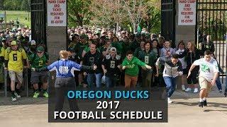 Oregon Ducks 2017 football schedule