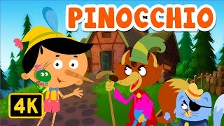 Pinocchio | Bedtime Stories | English Stories for Kids and Childrens
