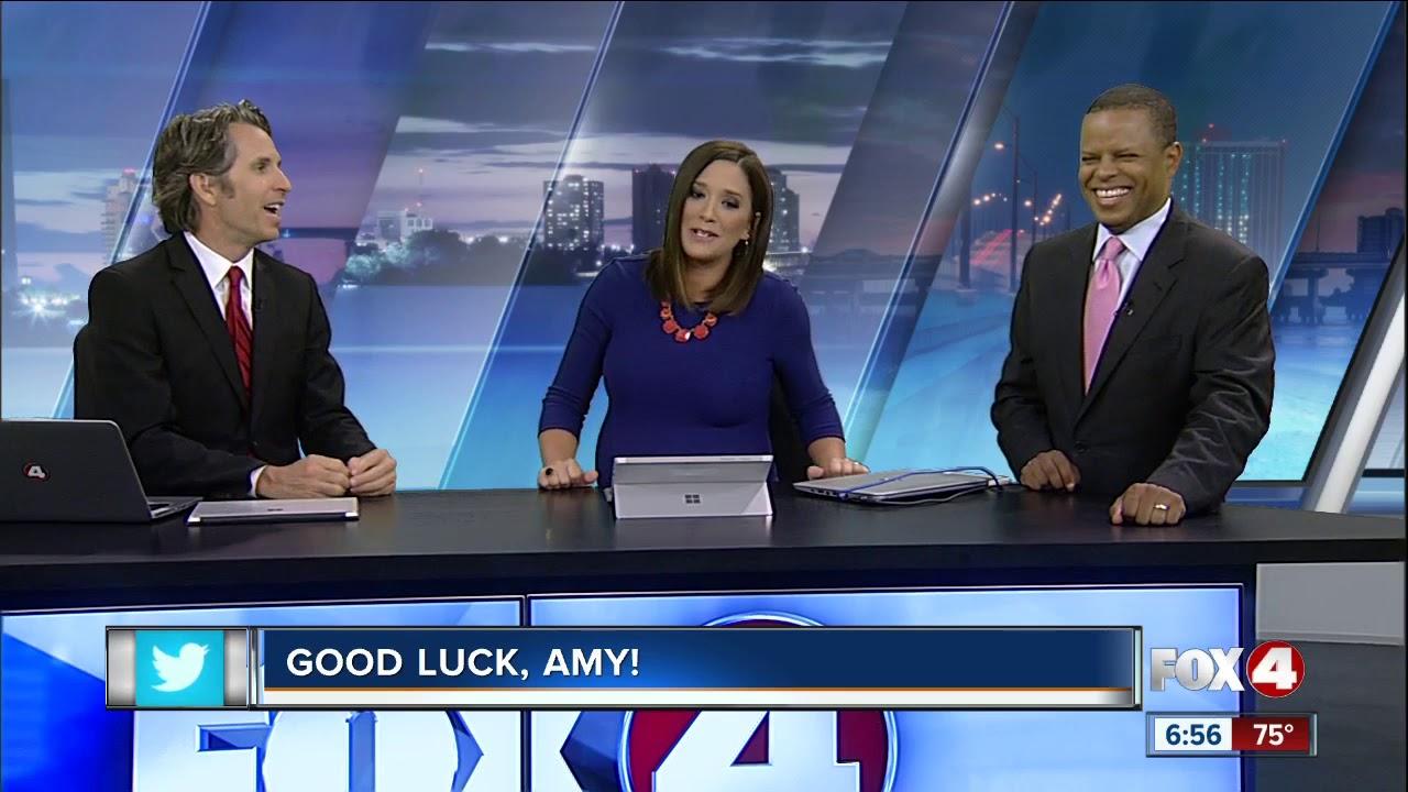 Fox 4 says goodbye to Amy Wegmann