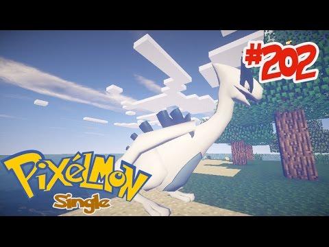 Minecraft Pixelmon Single [3.3.8] #202 จับ ลูเกีย โปเกม่อนในตำนาน