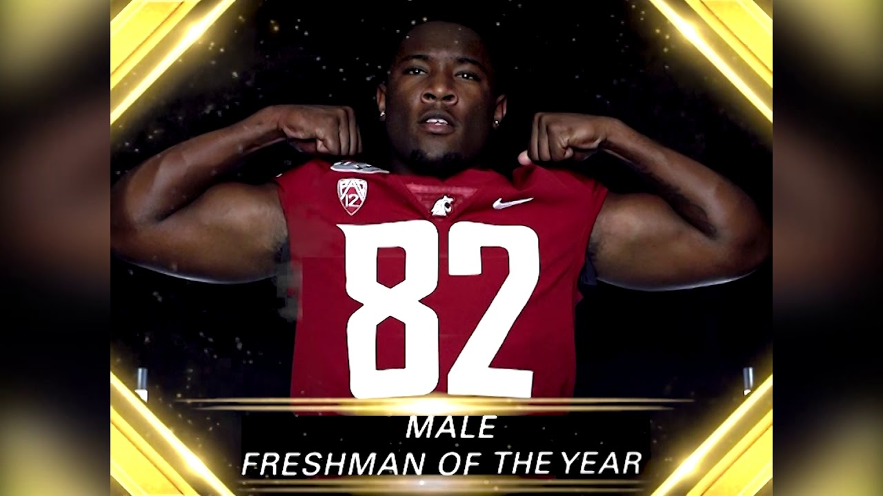 Image for WSU Athletics: Travion Brown Wins Male Freshman of the Year Award webinar