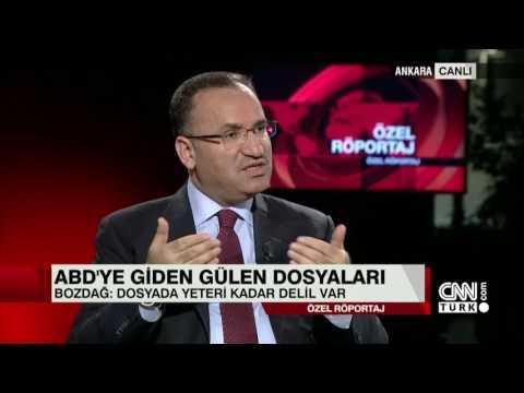 Adalet Bakanı Bekir Bozdağ özel röportajının tamamı