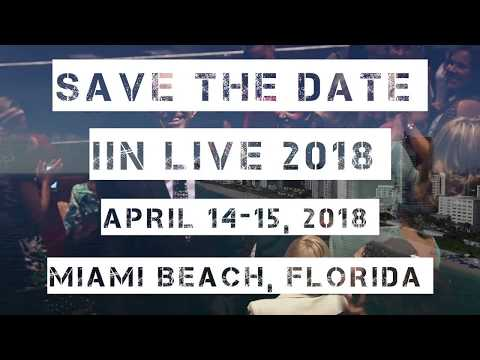 Save the Date   IIN Live Conference Miami 2018