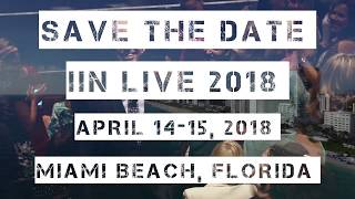 Save the Date | IIN Live Conference Miami 2018