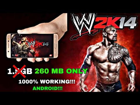 (260 MB) DOWNLOAD WWE 2K14 GAME FOR ANDROID MOBILES | WWE 2K14 GAME ONLY 260 MB FOR ANDROID!