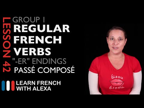 To use verbs in french conjugate regular ireneur