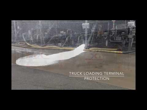 Compressed Air Foam for Oil Loading Terminals form Consilium, Sweden