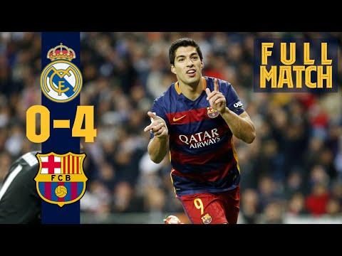FULL MATCH: Real Madrid  Barça (2015) Thriller in El Clásico!