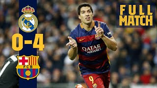 FULL MATCH: Real Madrid - Barça (2015) Thriller in El Clásico!