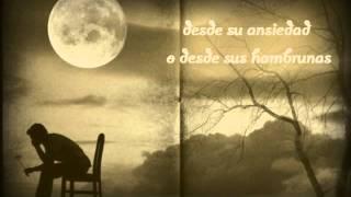 Hombre que mira a la luna (Mario Benedetti)-Luna duerme (Edgar Oceransky & Miguel A. Méndez)