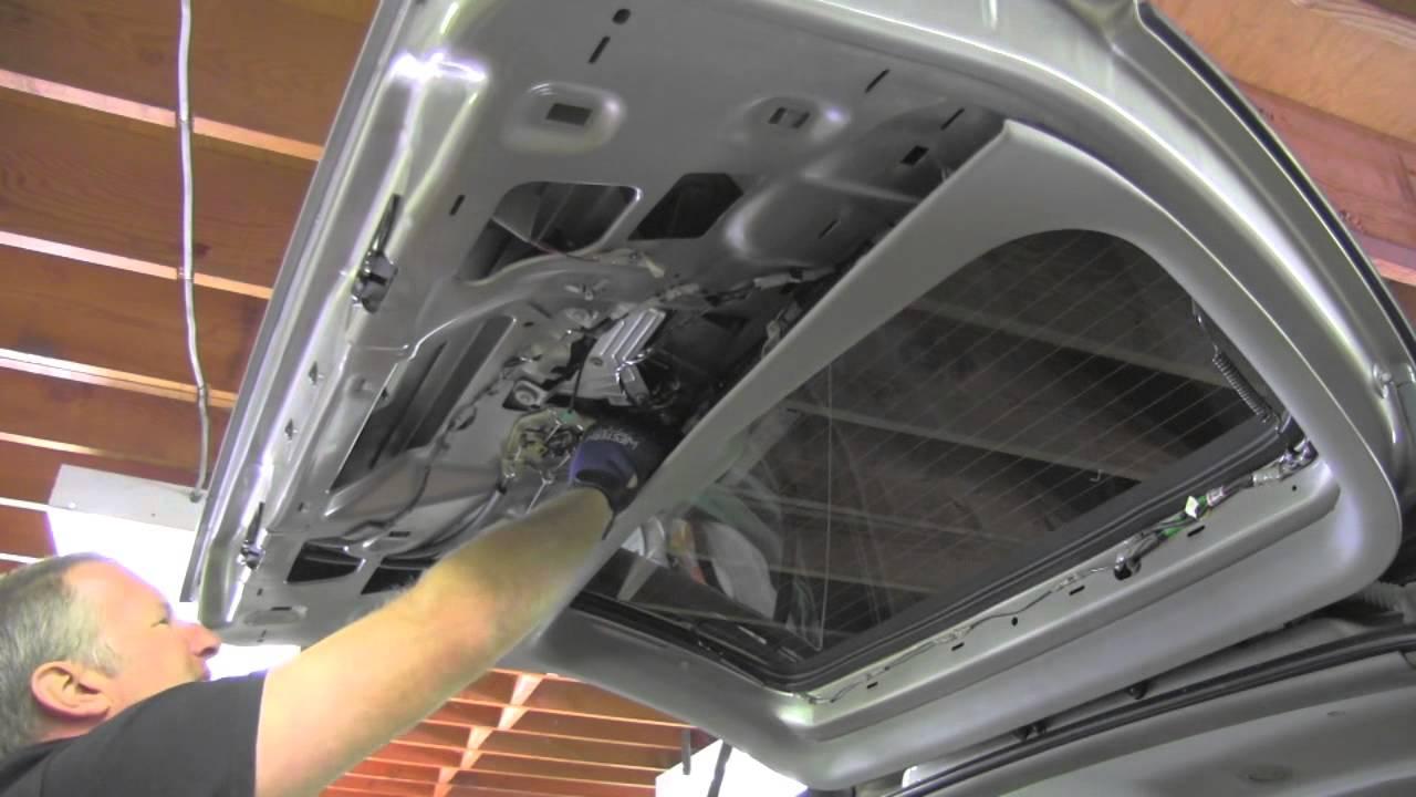 rear door hatch lock repair GMC Chevrolet  YouTube