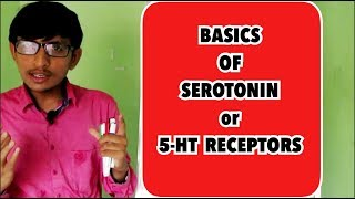 Basics of 5Hydroxytryptamine or Serotonin Receptors  || Synthesis, Types, and Mechanism of Action.