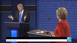 US Presidential Debate: Clinton and Trump spar on racism issues after Charlotte protests