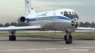 """Желающим послушать """"Свисток"""" ТУ-134А-3 RF-90789 """"Санкт-Петербург"""" Посадка руление."""