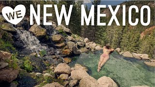 Hot Springs, Kayaking, SĮot Canyons, & Badlands NEW MEXICO Travel Vlog