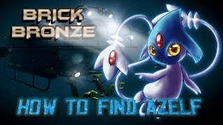 Roblox: Pokemon Brick Bronze - HOW TO FIND AZELF, UXIE AND MESPRIT!
