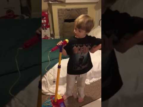 "Little Kid Sings AC/DC's ""Dirty Deeds Done Dirt Cheap"""