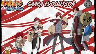 Naruto: Characters Evolution