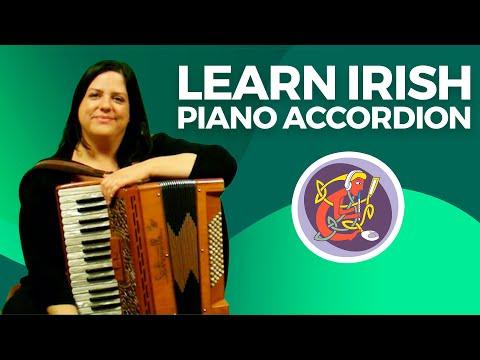 Irish Piano Accordion Lesson | Learn An Irish Session Tune + Bass Technique