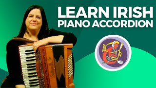 Irish Piano Accordion Lesson | Learn An Irish Session Tune + Bass Technique