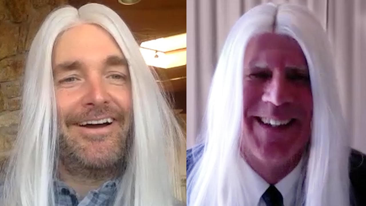 Long Haired Businessmen Video Conference with Will Ferrell and Will Forte