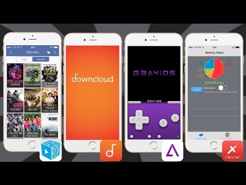 NEW Movies, TV, Music, Emulators & Tweaked Apps FREE iOS 11 / 10 / 9  NO Jailbreak iPhone iPad iPod