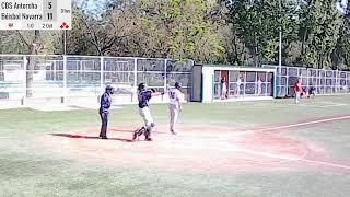 Partido 2 CBS Antorcha Vs Béisbol Navarra