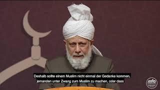 Auszug aus Rede Seiner Heiligkeit | Kalif in Deutschland (7)