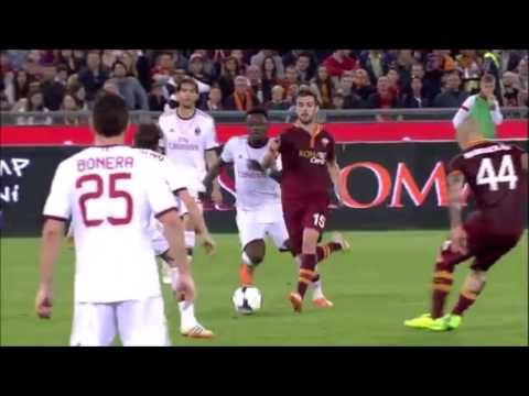 Miralem Pjanic-all goals with A.S Roma