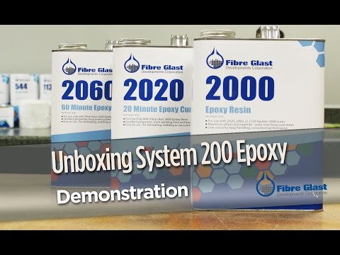 Unboxing System 2000 Epoxy Resin