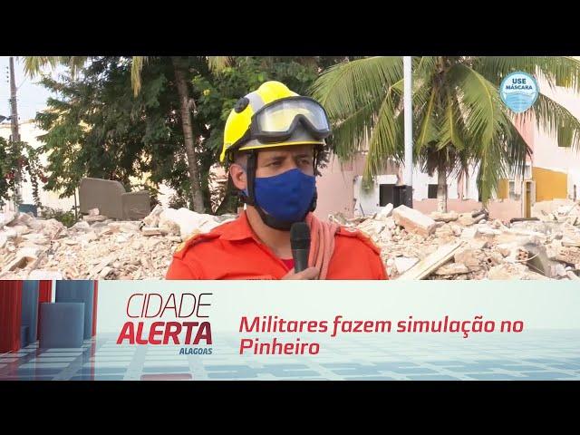 'Operação Alagoas': Militares fazem simulação no Pinheiro
