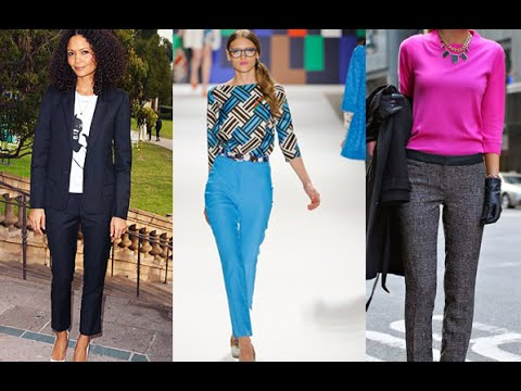 Ideas for Outfits to Wear to Work - Outfits para ir al trabajo - Moda mujer - YouTube