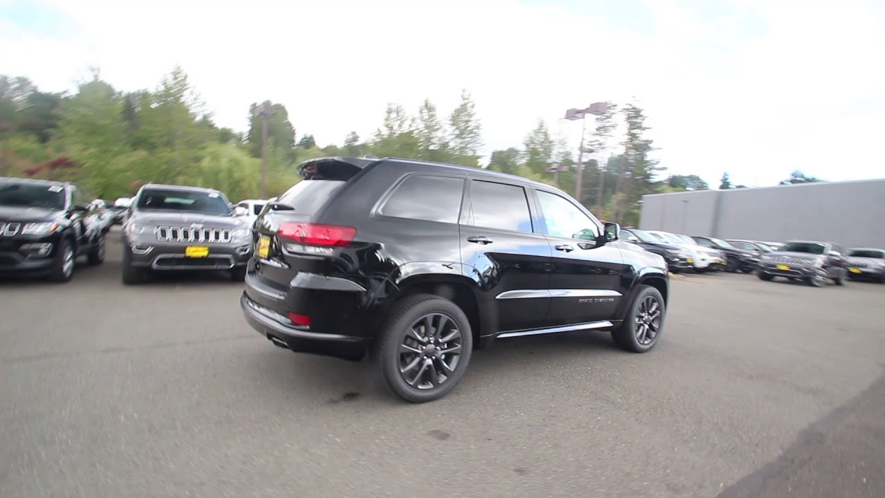 2018 jeep high altitude black. exellent high 2018 jeep grand cherokee high altitude 4x4  diamond black crystal  jc142843 redmond seattle throughout jeep high altitude black h