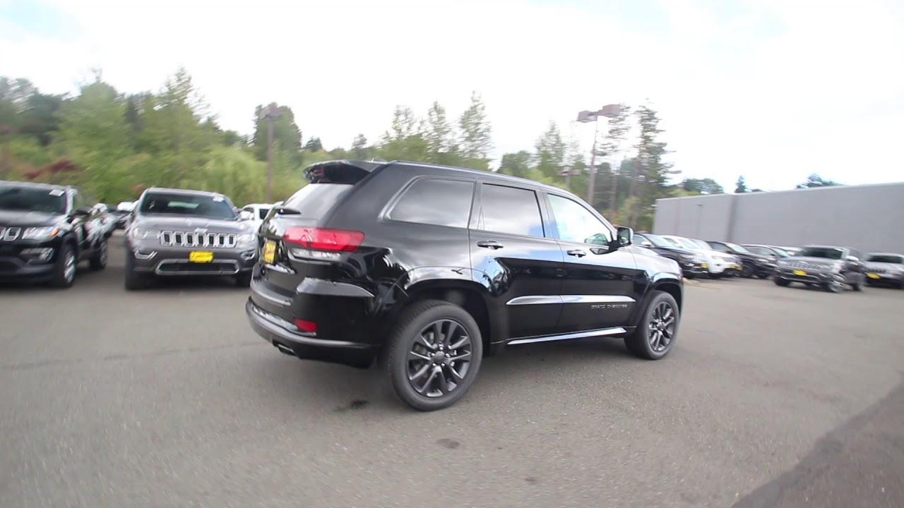 2018 Jeep Grand Cherokee High Altitude 4x4 Diamond Black