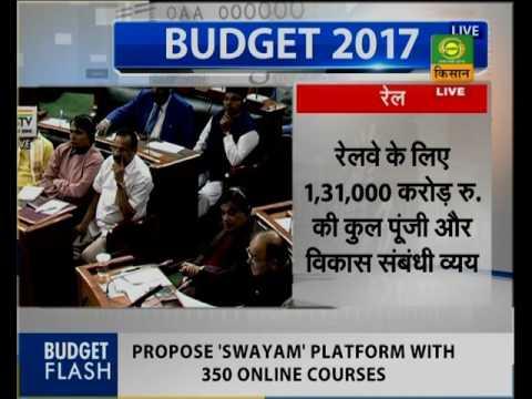 Union Budget Live on DD Kisan Part-8 (01.02.2017) बजट 2017