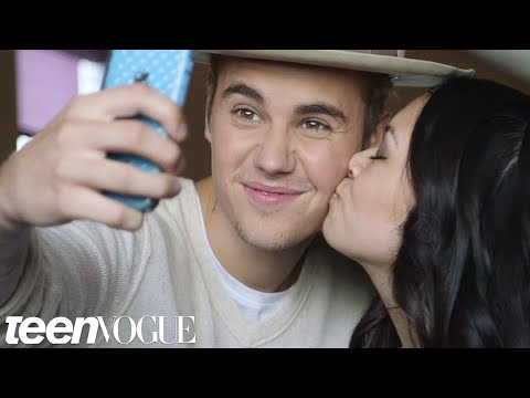 Justin Bieber Meets Two Inspiring and Adorable Super Fans  Teen Vogue
