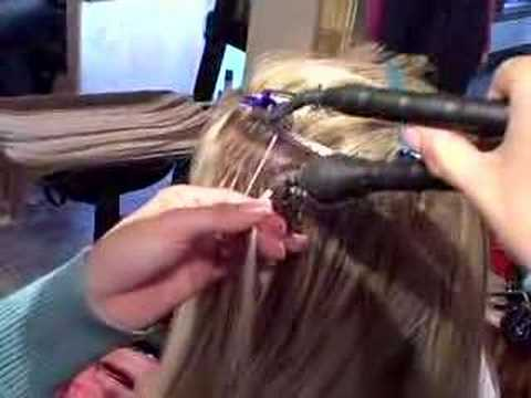 Great Lengths Hair Extension Application