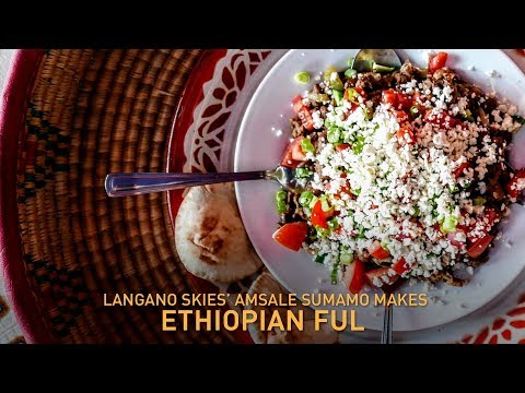 How to make fül, a quick and healthy Ethiopian snack | Fast Food