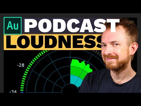 Podcast Loudness -