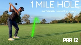 1 Mile Long Altered Hole Challenge   Atlantic City Country Club
