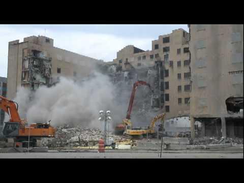 Cass Tech High School demolition
