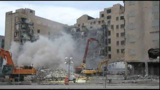 Cass Tech High School demolition