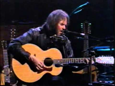 NEIL YOUNG   Pocahontas   MTV Unplugged 1993
