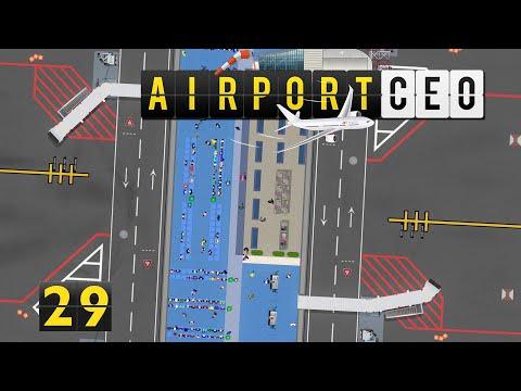 Airport CEO ✈ Feedback und Änderung ► #29 Flughafen Bau Management Simulation deutsch german