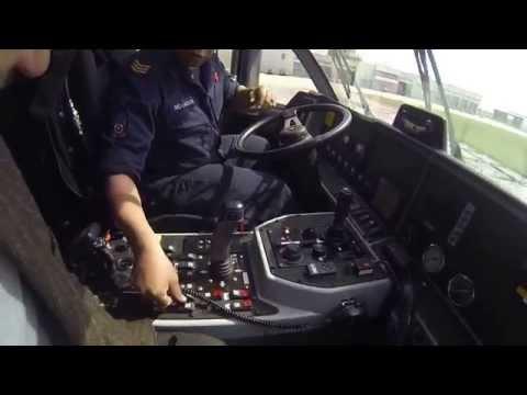 Fun in the Crashtender at Marine Airport Den Helder