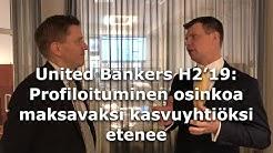 United Bankers H2'19: Profiloituminen osinkoa maksavaksi kasvuyhtiöksi etenee