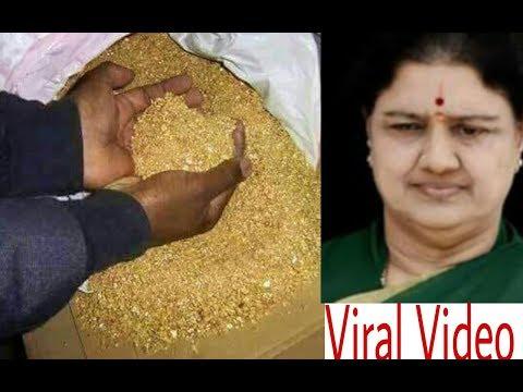 black money found in shashikala home which was hidden in the tunnel Tamilnadu