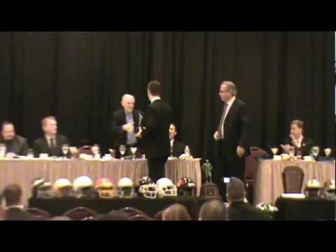 Josh Bernard - 2011 Maxwell Football Club High School Award Winner.MPG